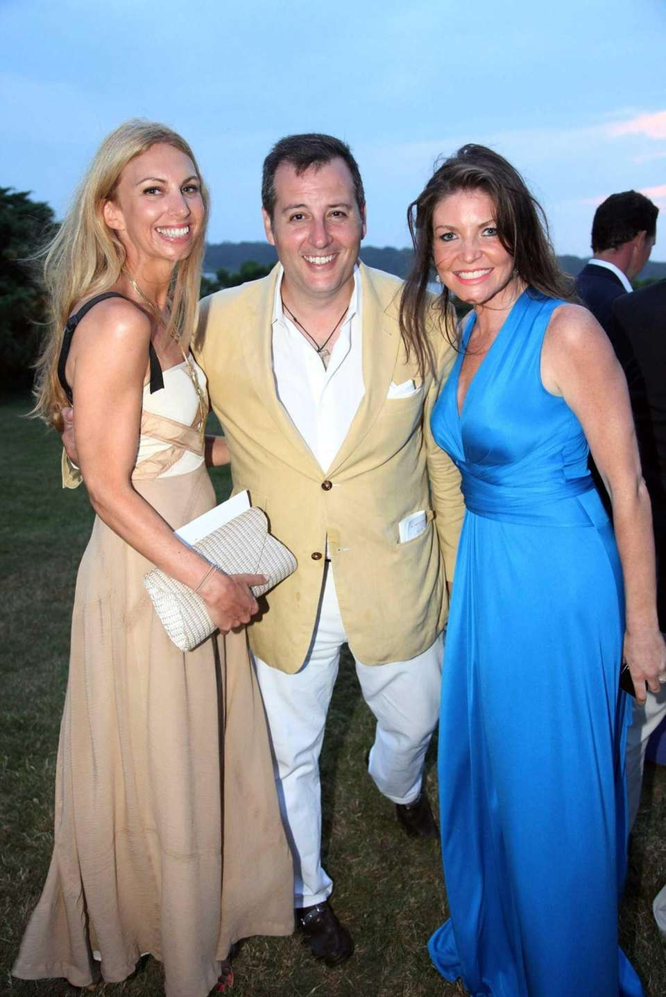 From left, Tara Mulroony, Steven Knobel and Nicole