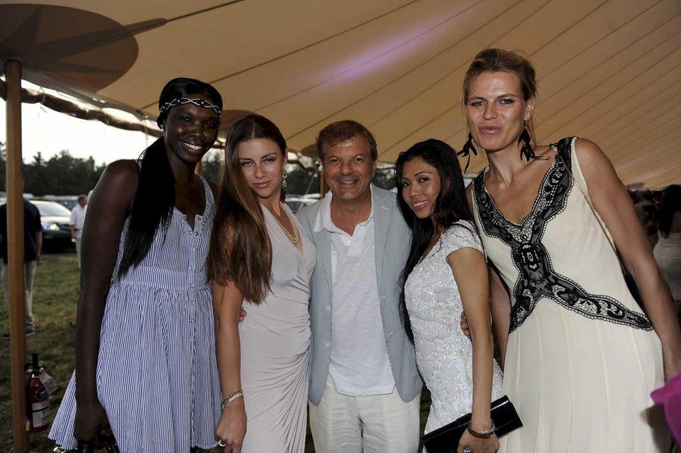 From left, Rina Tara, Leyla Nikjou, Rocco Ancarola,