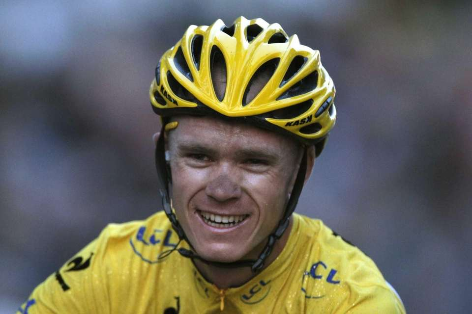 2013 Tour de France cycling race winner Christopher