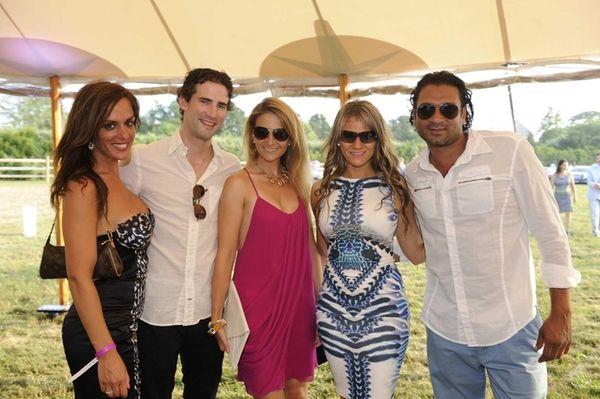 From left, Melissa Fabilli, Jeffrey Grarell, Kristina Macececvic,
