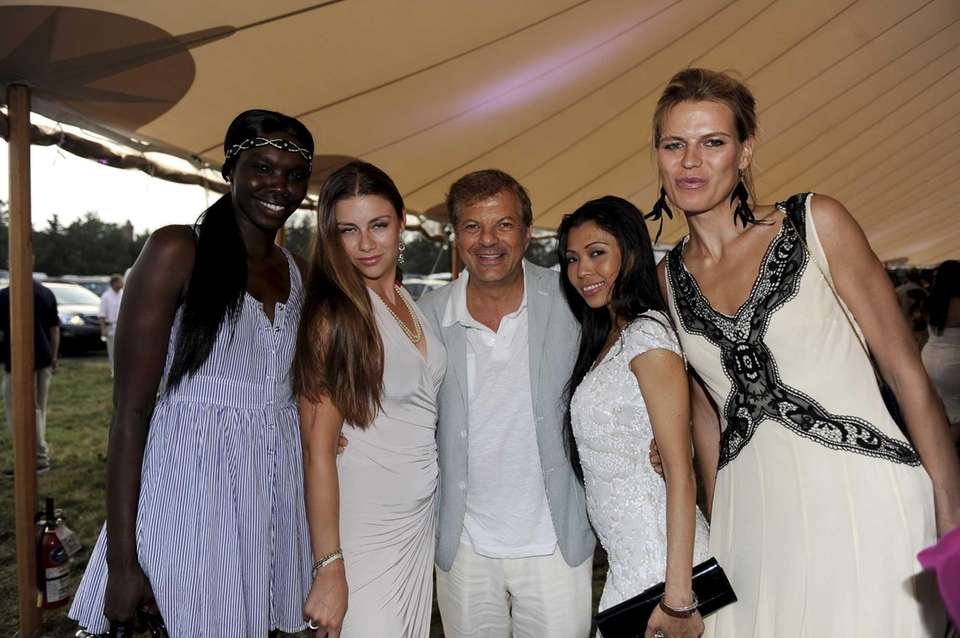 L to R Rina Tara, Leyla Nikjou, Rocco