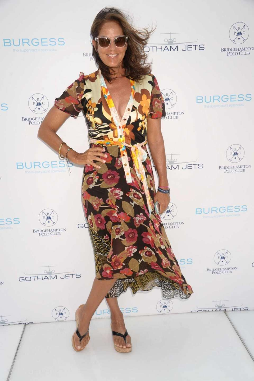 Kelly Klein attends the 17th Annual Bridgehampton Polo