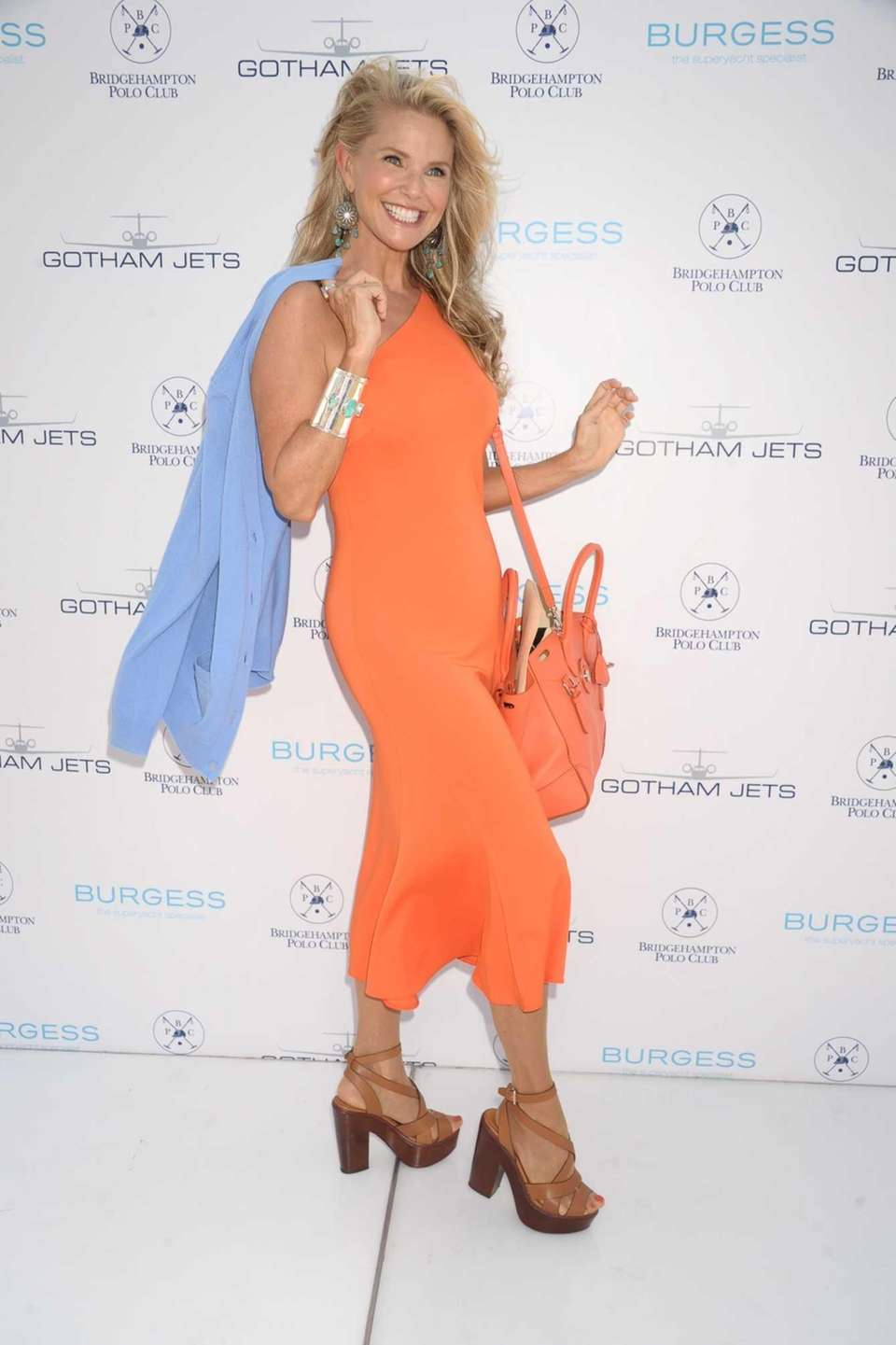 Christie Brinkley attends the 17th Annual Bridgehampton Polo