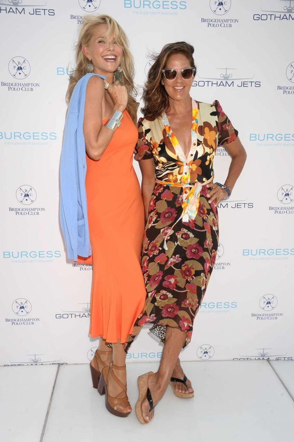 Christie Brinkley and Kelly Klein attend the 17th