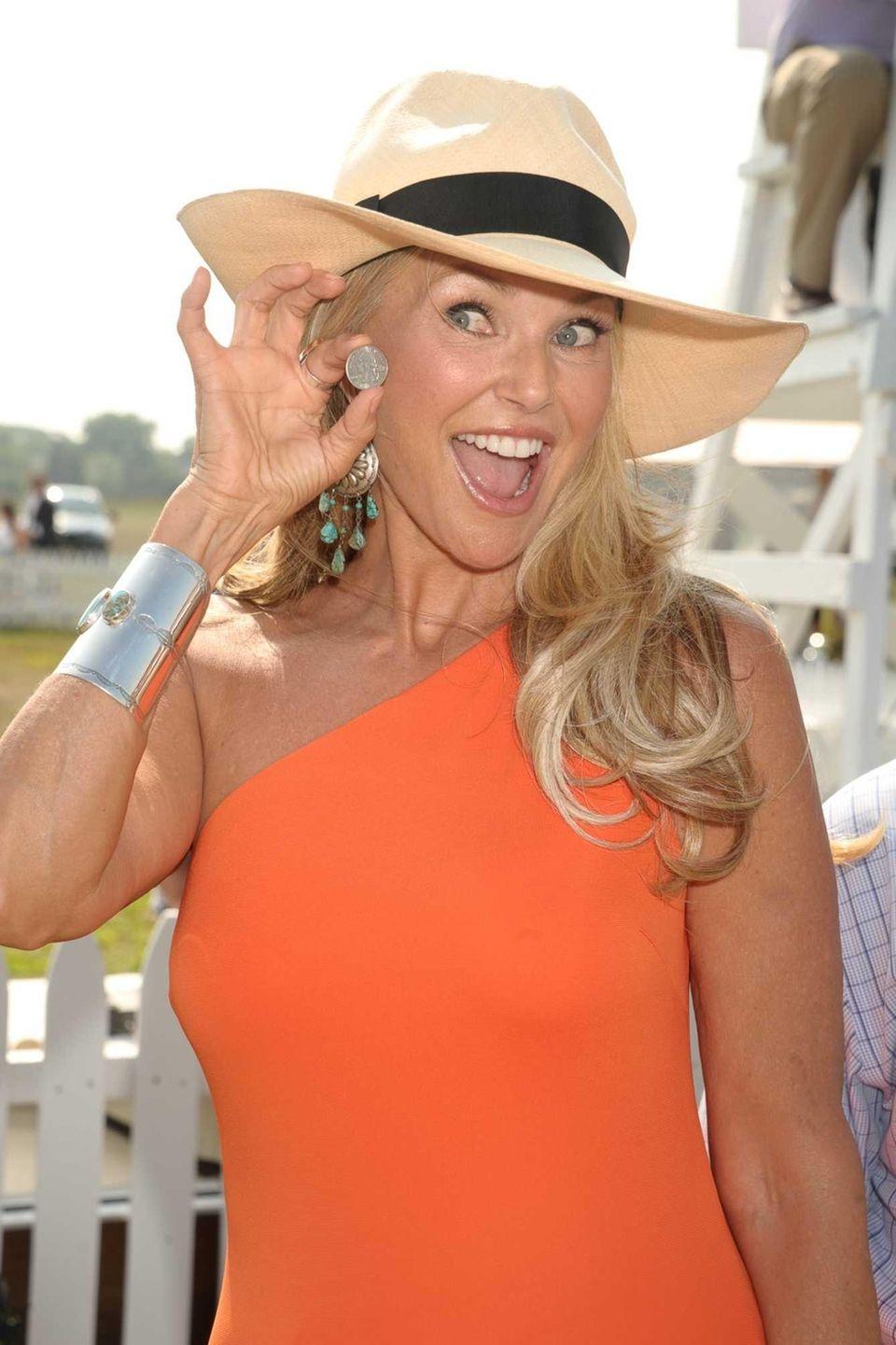Christie Brinkley attends the 17th Annual Bridgehampton Polo