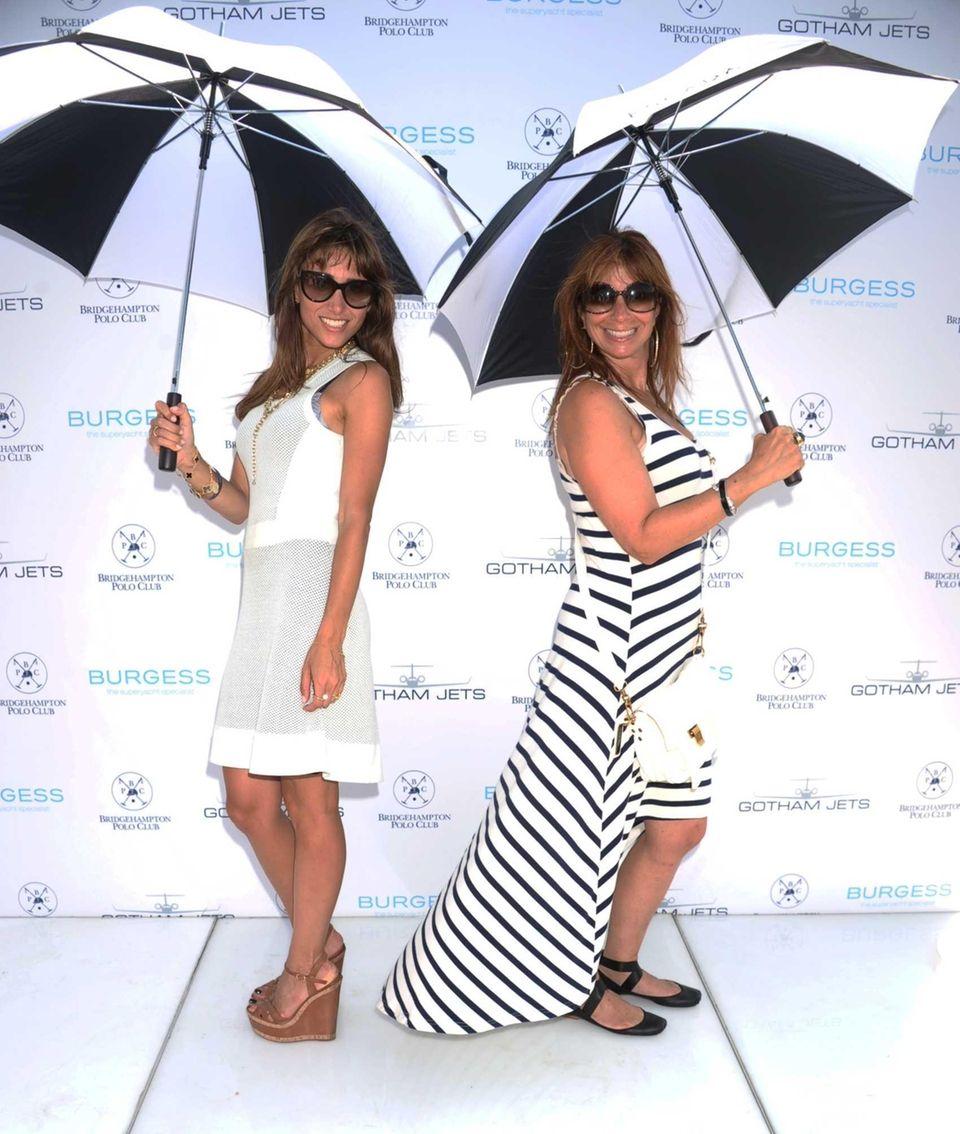 Rachel Heller and Jill Zarin attend the 17th
