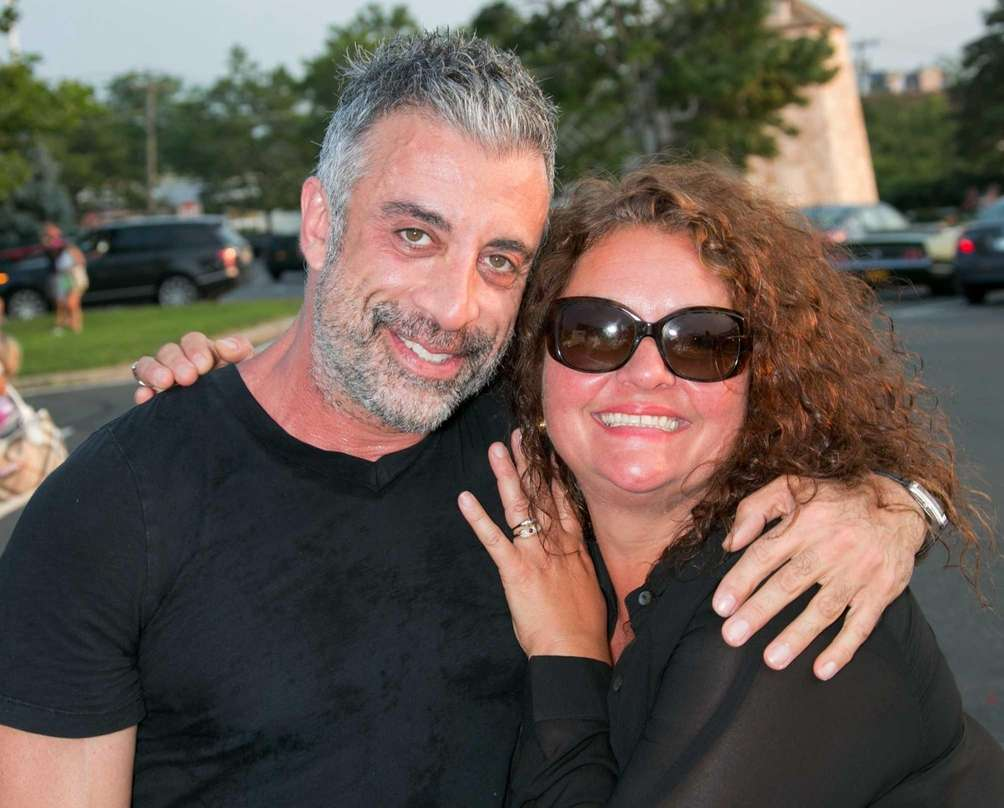 Guest and actress Aida Turturro attend the