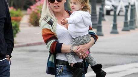 Pink (aka Alecia Moore) and her daughter, Willow