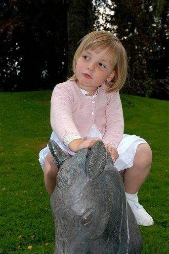 Norway's Princess Ingrid Alexandra around her 4th birthday