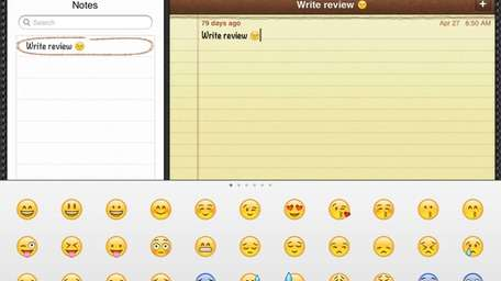 You can add Emoji, a keyboard of smiley