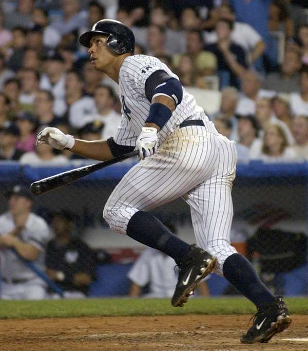 ALEX RODRIGUEZ 2007, Yankees 54 home runs