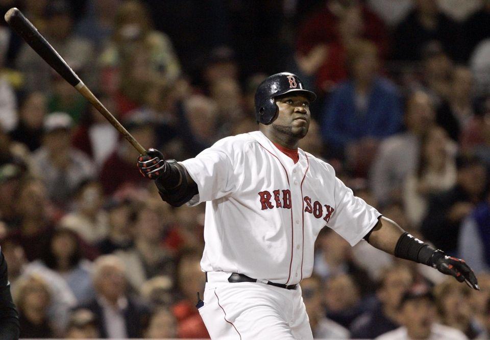 DAVID ORTIZ 2006, Boston Red Sox 54 home