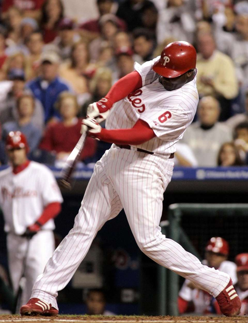 RYAN HOWARD 2006, Philadelphia Phillies 58 home runs