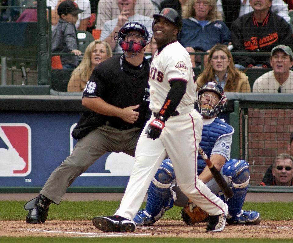 BARRY BONDS 2001, San Francisco Giants 73 home