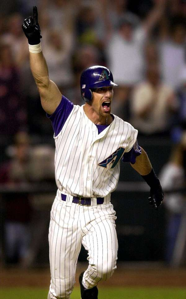 LUIS GONZALEZ 2001, Arizona Diamondbacks 57 home runs