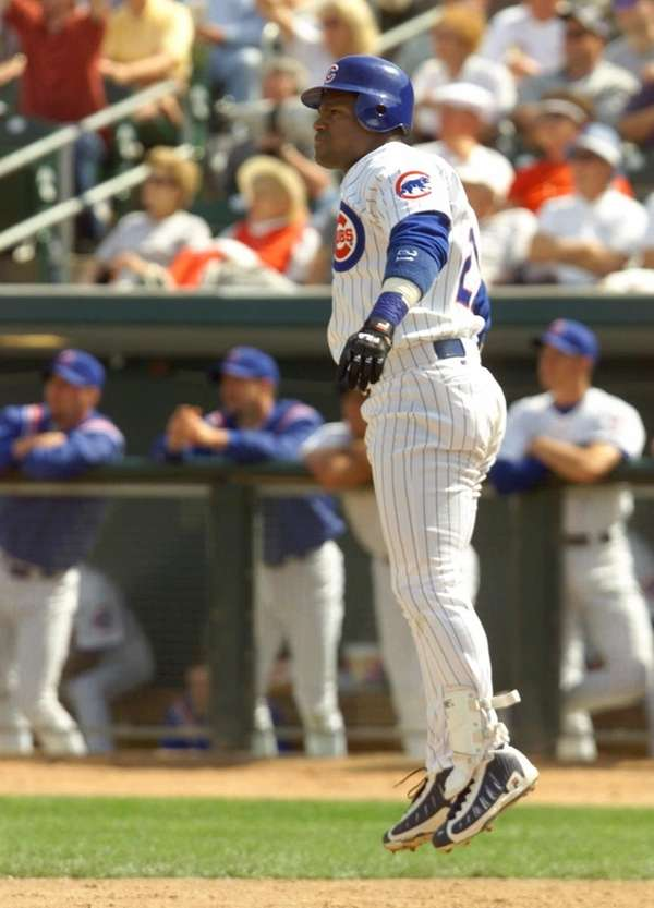 SAMMY SOSA 2000, Chicago Cubs 50 home runs