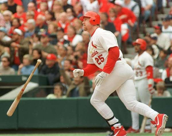 MARK MCGWIRE 1999, St. Louis Cardinals 65 home