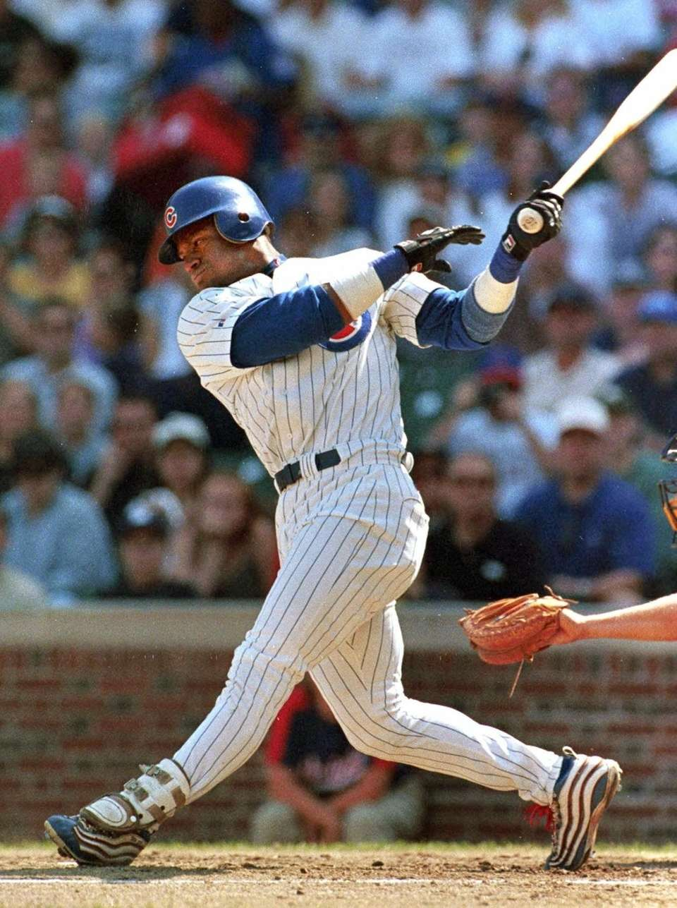 SAMMY SOSA 1999, Chicago Cubs 63 home runs