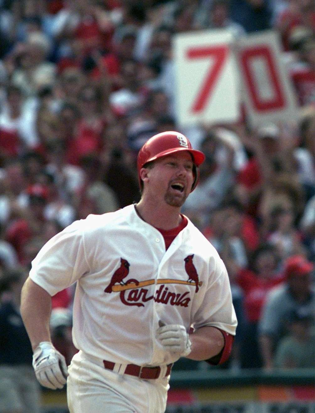 MARK MCGWIRE 1998, St. Louis Cardinals 70 home