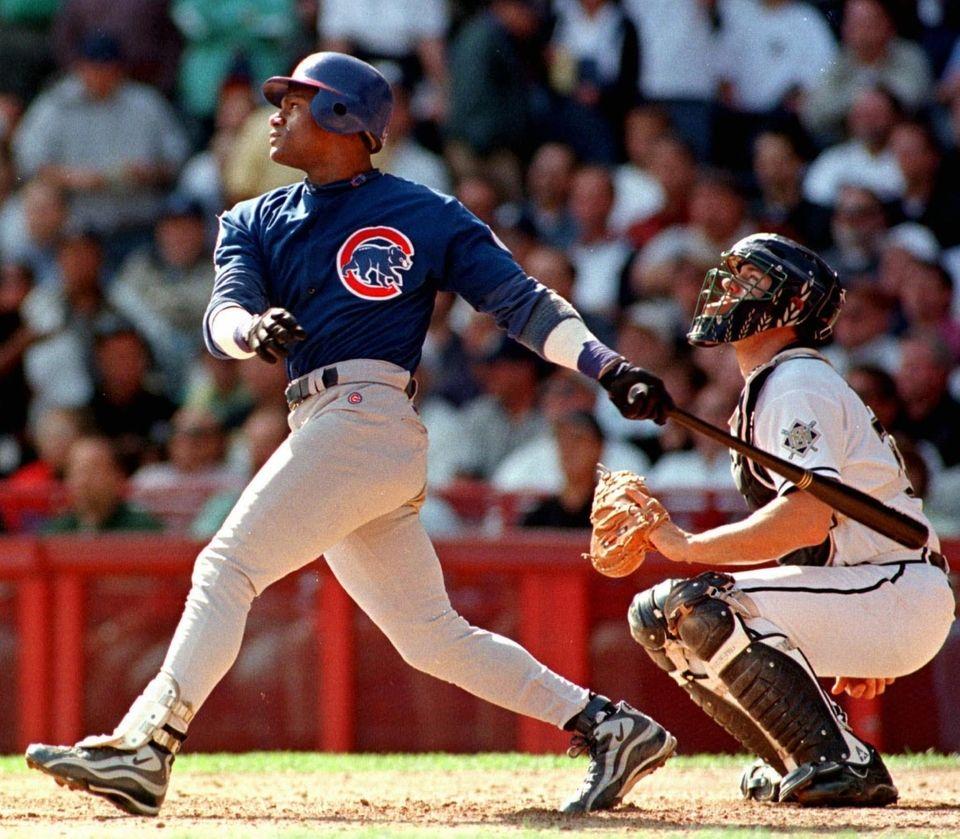 SAMMY SOSA 1998, Chicago Cubs 66 home runs