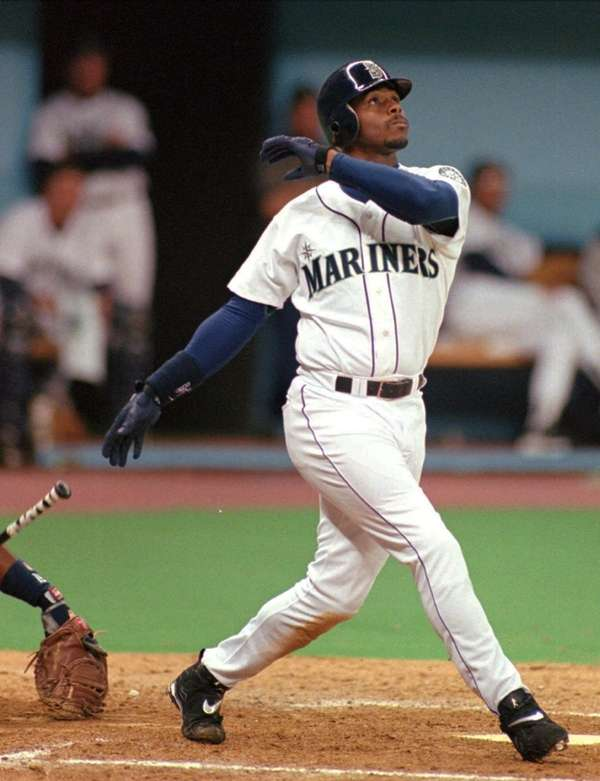 KEN GRIFFEY JR. 1998, Seattle Mariners 56 home