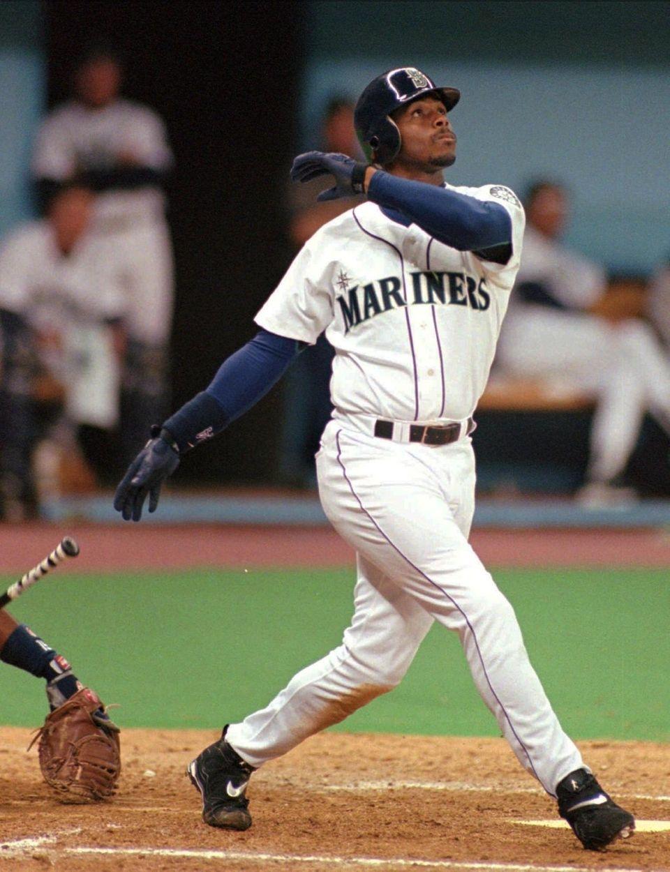 KEN GRIFFEY JR. 1998, Seattle Mariners 56 home