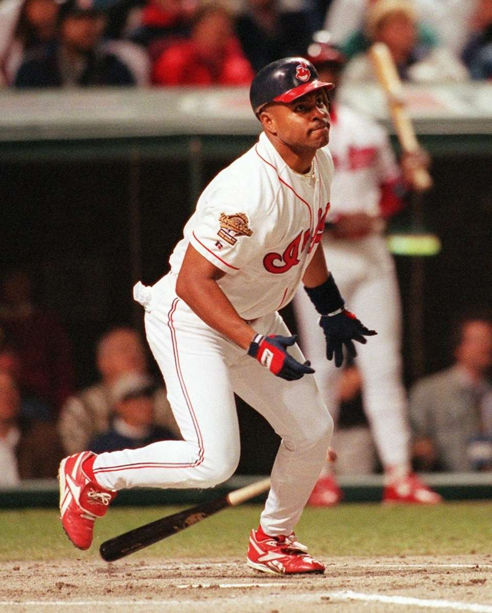 ALBERT BELLE 1995, Cleveland Indians 50 home runs