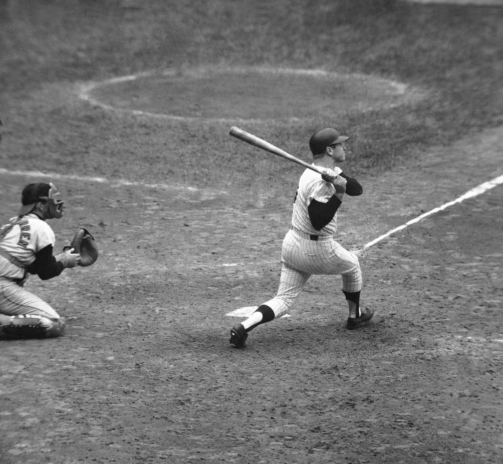 MICKEY MANTLE 1961, Yankees 54 home runs