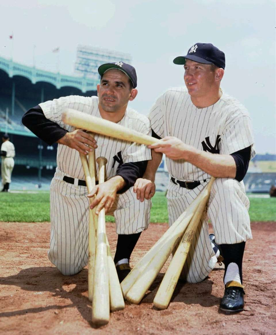 MICKEY MANTLE 1956, Yankees 52 home runs