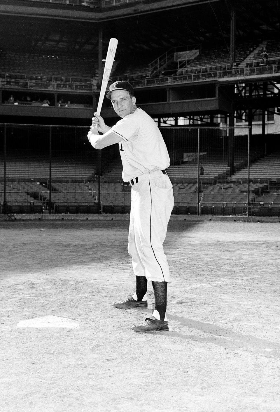 RALPH KINER 1949, Pittsburgh Pirates 54 home runs