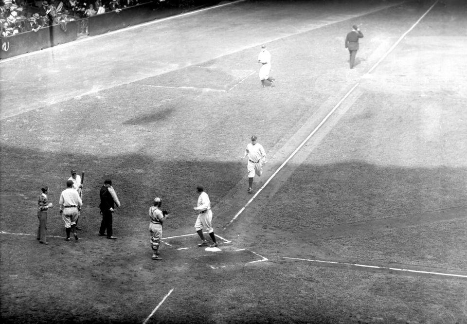 BABE RUTH 1928, Yankees 54 home runs