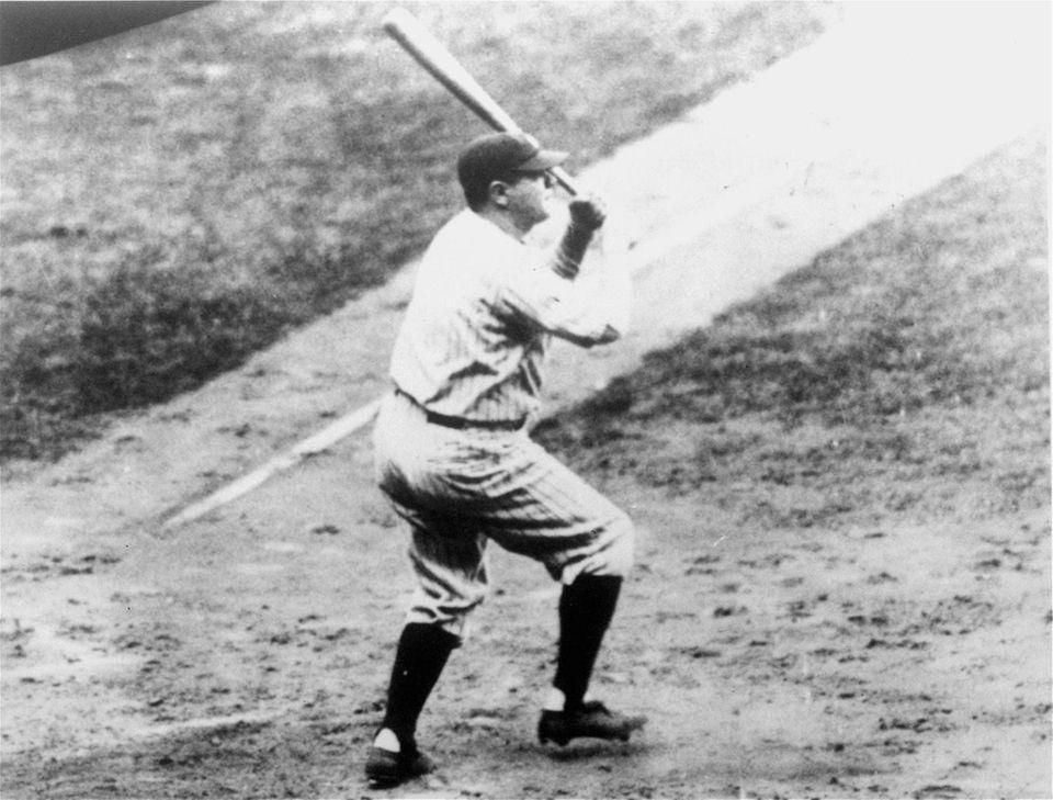 BABE RUTH 1927, Yankees 60 home runs