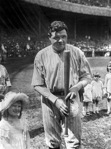 BABE RUTH 1921, Yankees 59 home runs