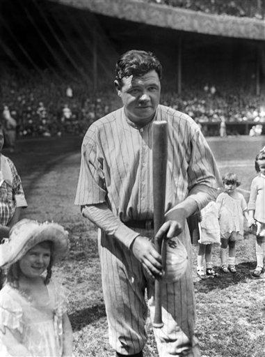 BABE RUTH 1921, Yankees 59 home runs