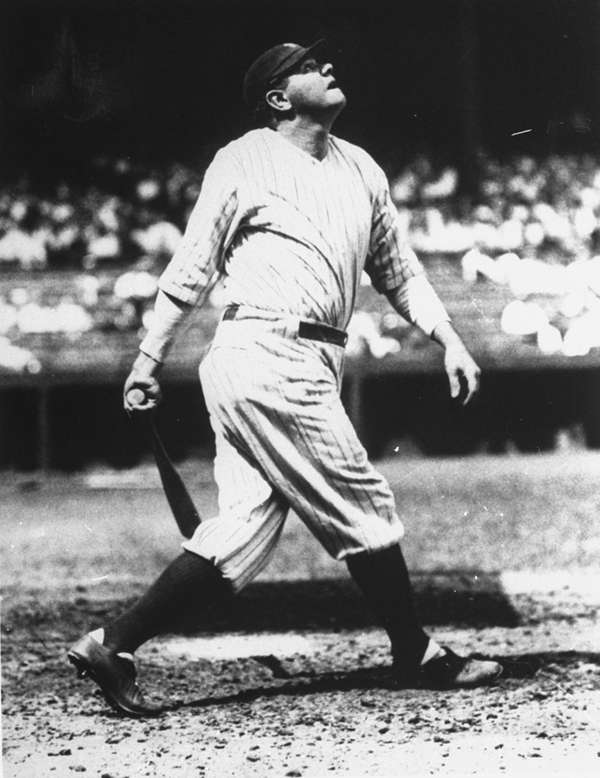 BABE RUTH 1920, Yankees 54 home runs