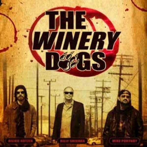 """The Winery Dogs"" album cover."