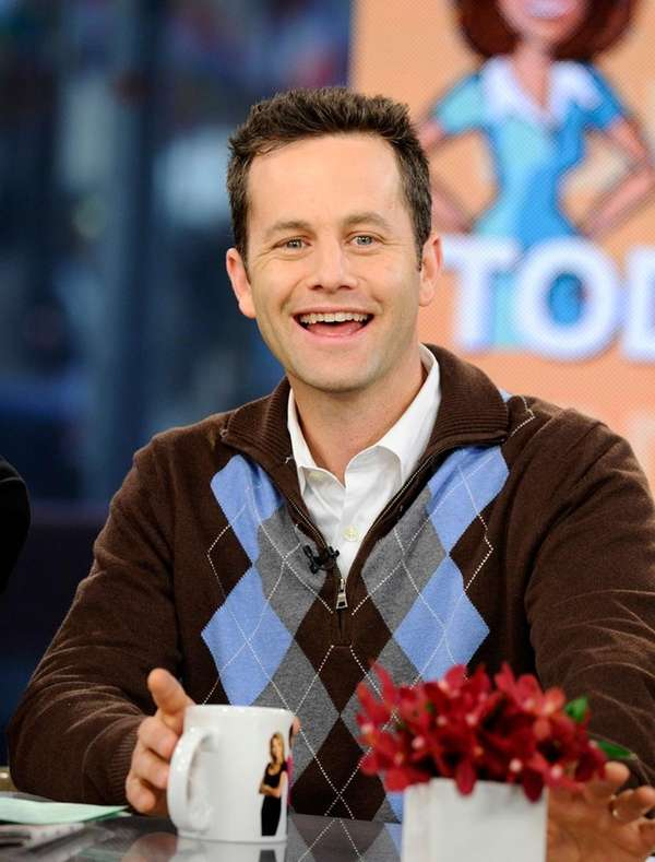 Actor Kirk Cameron co-hosts on NBC's