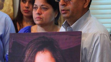 Kuldip, mom, and Chander Kochhar, dad, parents of