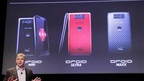 Verizon recently unveiled three new Android smartphones which