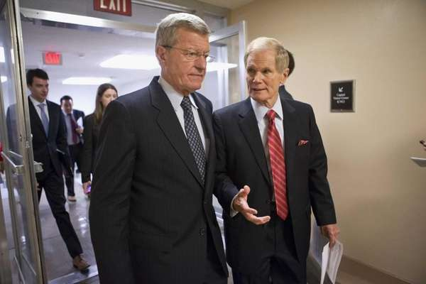 Senate Finance Committee Chairman Sen. Max Baucus, D-Mont.,