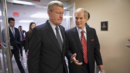 Senate Finance Committee Chairman Sen. Max Baucus, D-Mont.,