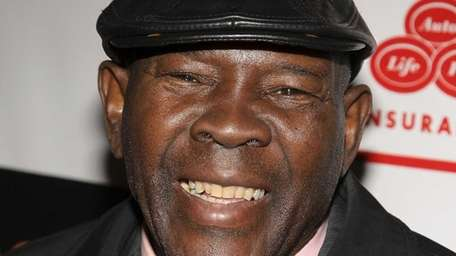 Former boxer Emile Griffith attends the premiere of