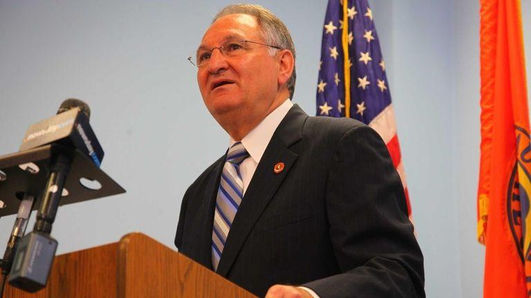 Nassau County Comptroller George Maragos' spokesman Jostyn Hernandez
