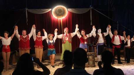 The Zoppe Italian Family Circus takes place July