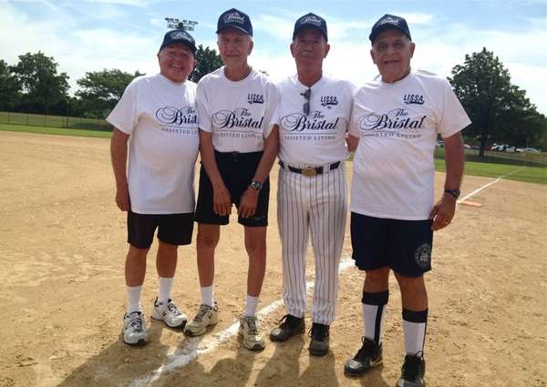 The Long Island Senior Softball Association inducted Pete