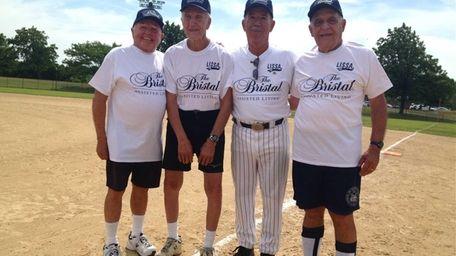 The Long Island Senior Softball Association inducted Pete