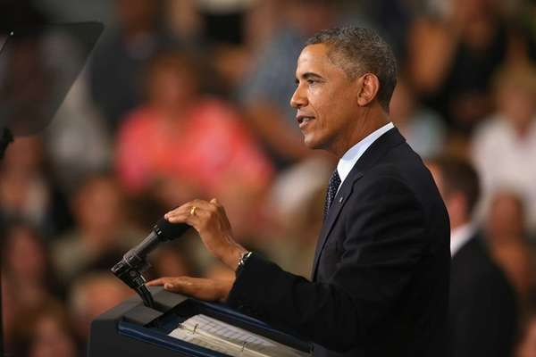 President Barack Obama addresses the state of the