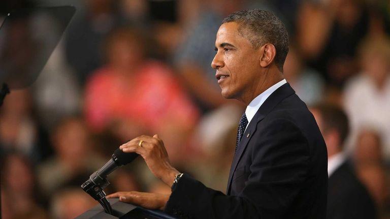 President Barack Obama addresses the state of the
