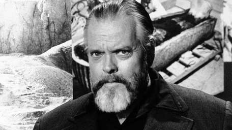 Orson Welles in an undated photo.