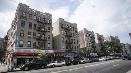 Apartments on St. Nicholas Ave near West 174th